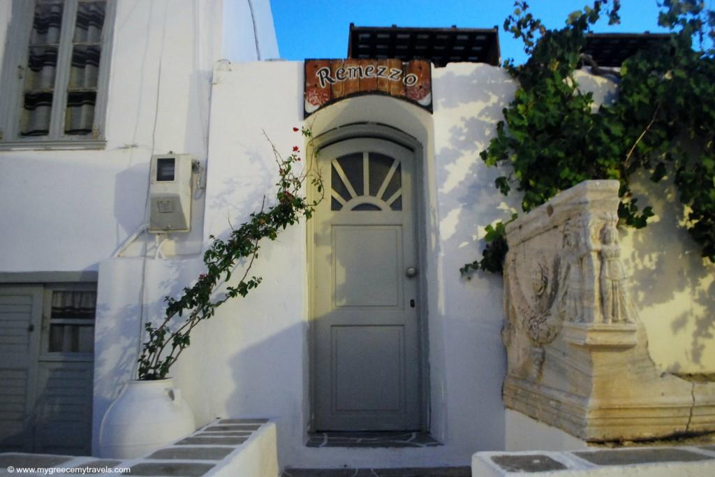 Castro of Sifnos doorways.