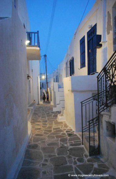 The castro of Sifnos island.