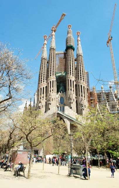 The Colors of La Sagrada Familia