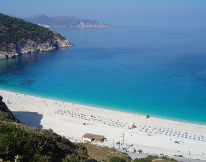 Porto Katsiki Beach in Lefkada
