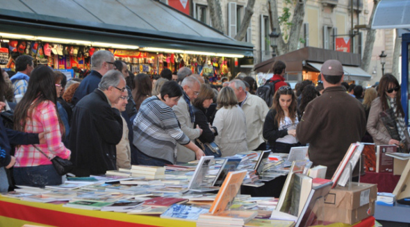 sant jordi day: love and books