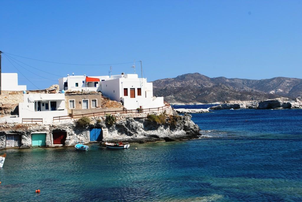 Goupa fishing village in Milos
