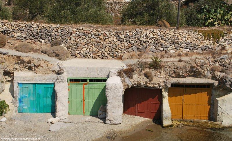 Goupa village in kimolos island