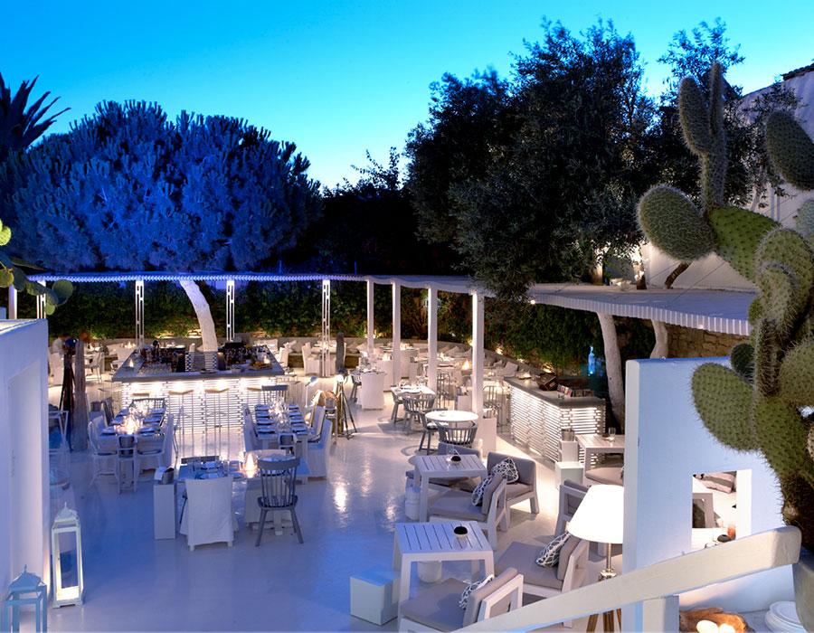 Interni Bar Mykonos