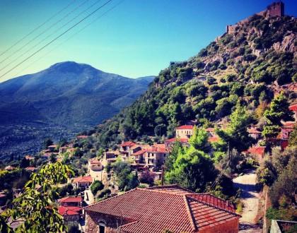 A Day in Karytaina Village