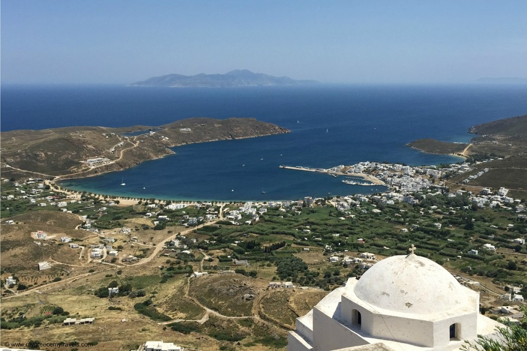 View from Chora in Serifos.
