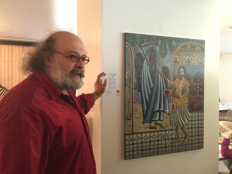 a personal art tour