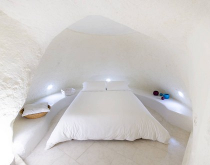 Sassi Cave Stay in Matera