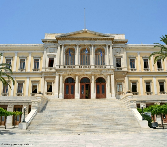 city hall of syros