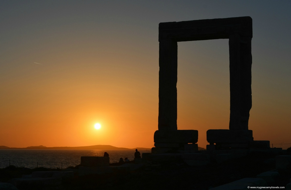 The Portara of Naxos