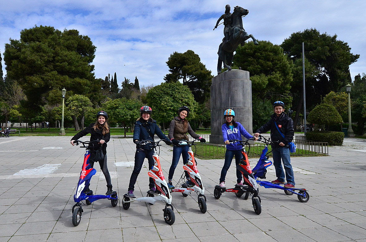 Scooter Tour of Athens