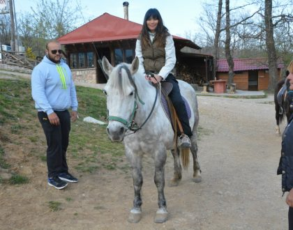 Horse Riding in Greece: Lake Plastiras