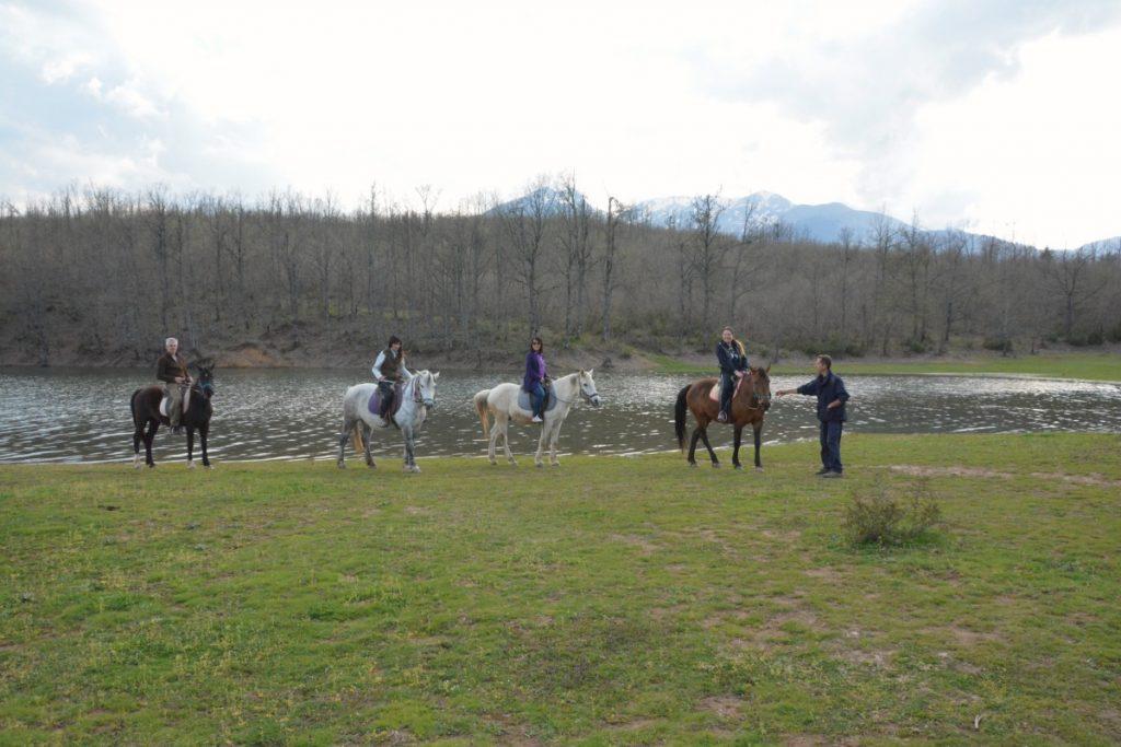 Horse Riding in Greece Lake Plastiras mygreecemytravels (6)