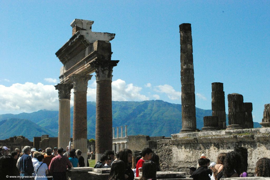 a city that was in pompeii