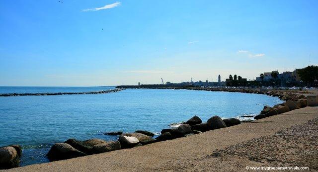 adriatic sea views in bari vecchia