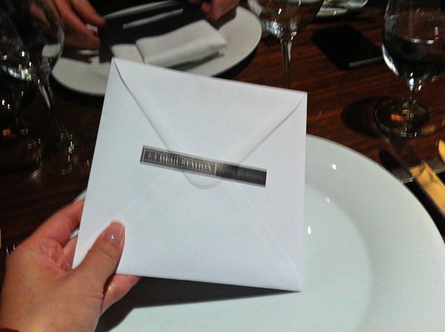 la dégustation bohême bourgeoise menu