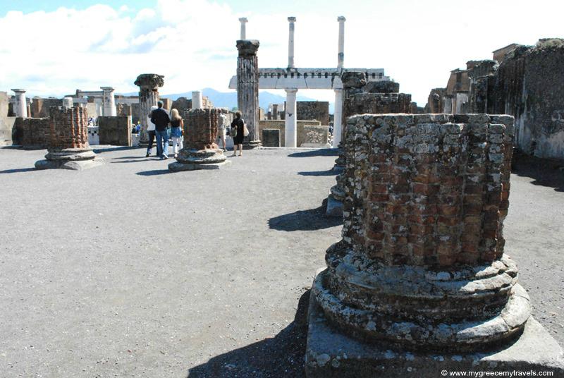 pompeii site