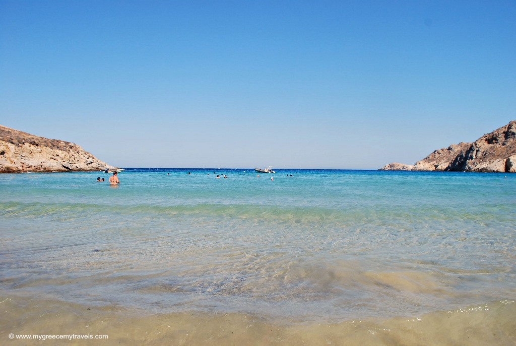 serifos island's best beach