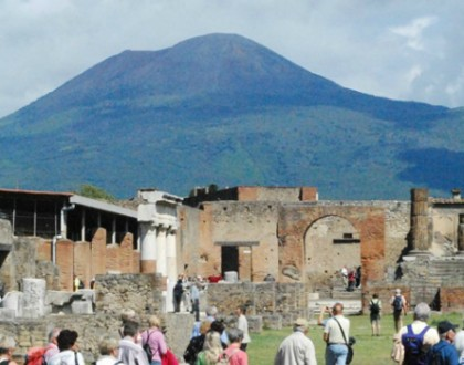Pompeii:  Mansions, Graffiti, Bars and Brothels
