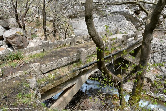 Bridge in the Agrafa Mountains, Karditsa.