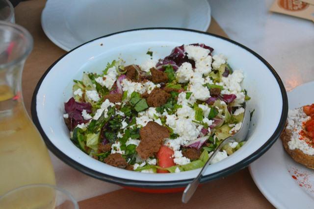 green salad greek style