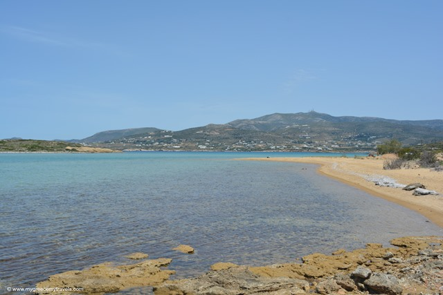 beaches of antiparos
