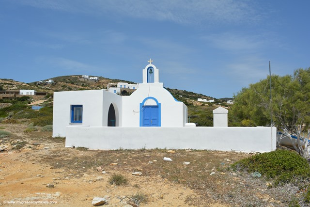 church in antiparos