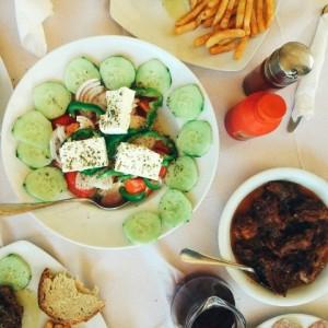 Restaurants in Zakynthos.