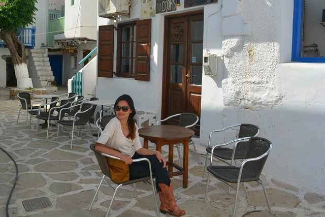 old town of antiparos