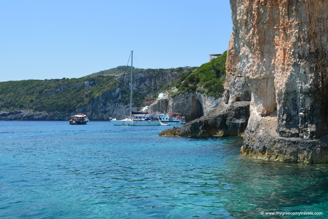 Boating to the Blue Caves in Zakynthos
