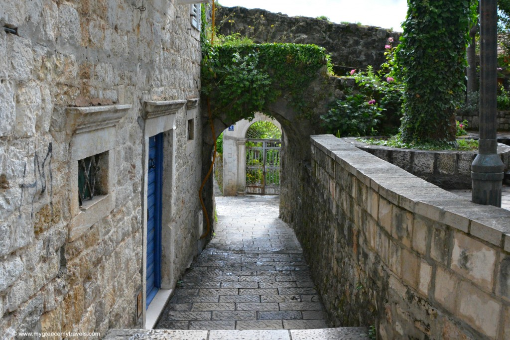 stone pathways in herceg novi montenegro