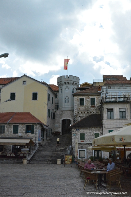 Tower of Herceg Novi.