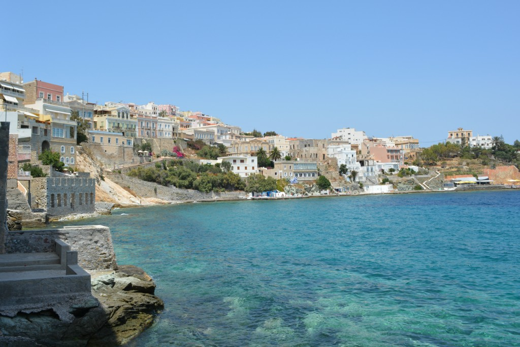 Beautiful View in Syros Island