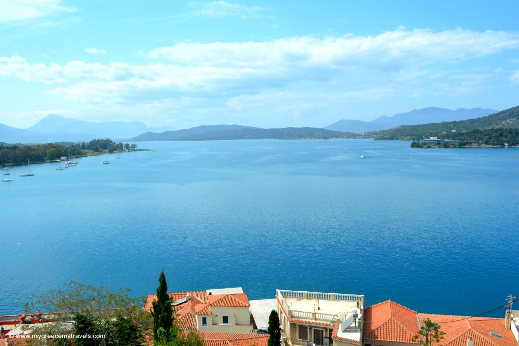 Poros views are fantastic!