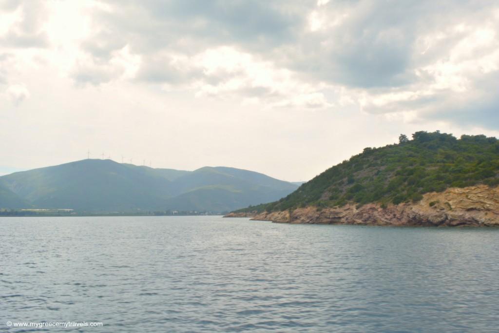 Admire the views in Poros.