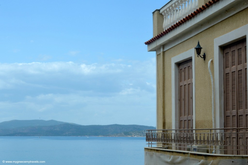 Love this view in Poros.