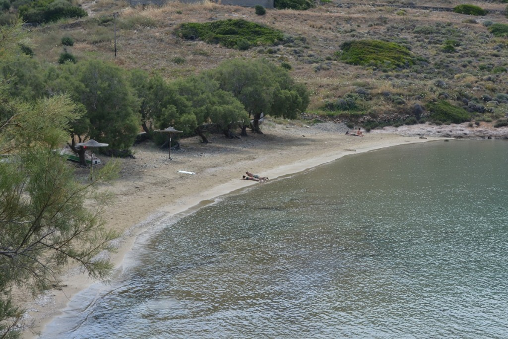 Secluded Beach in Syros