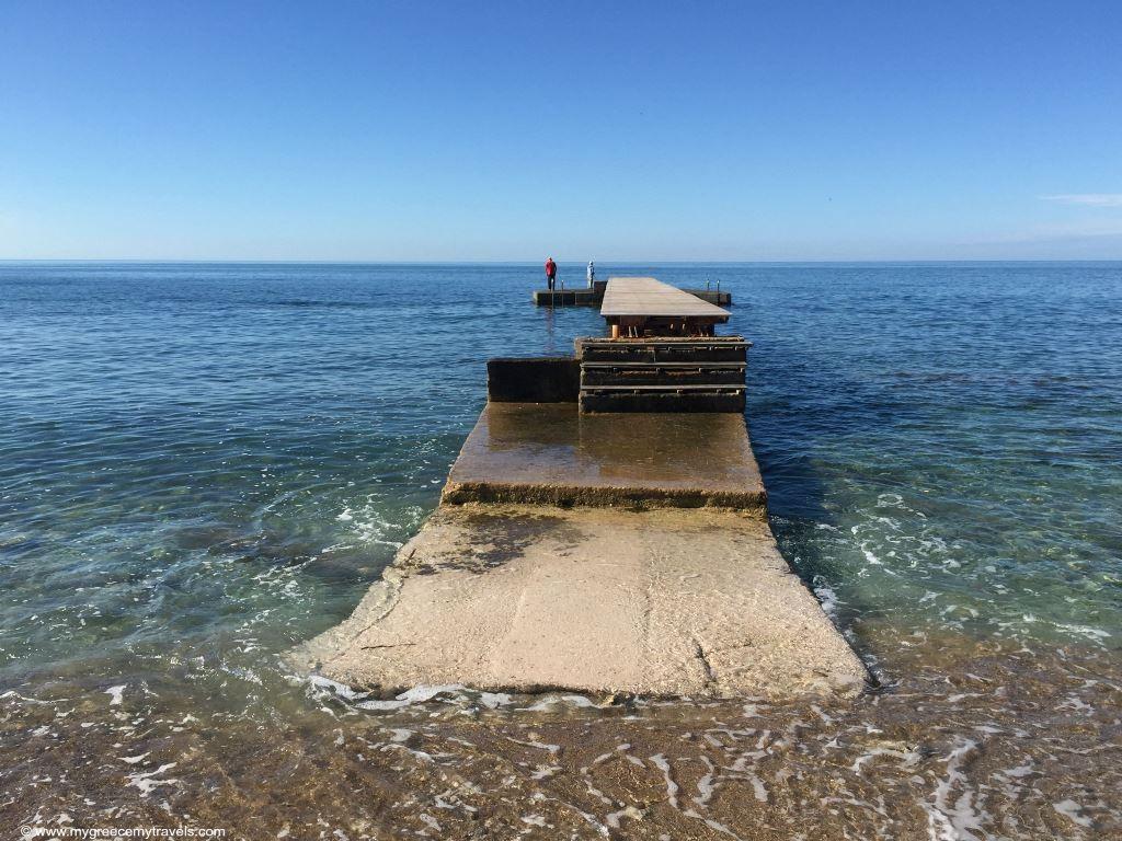 a little dock in budva
