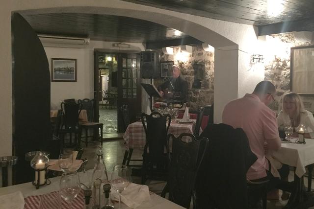 cute restaurant in budva old town