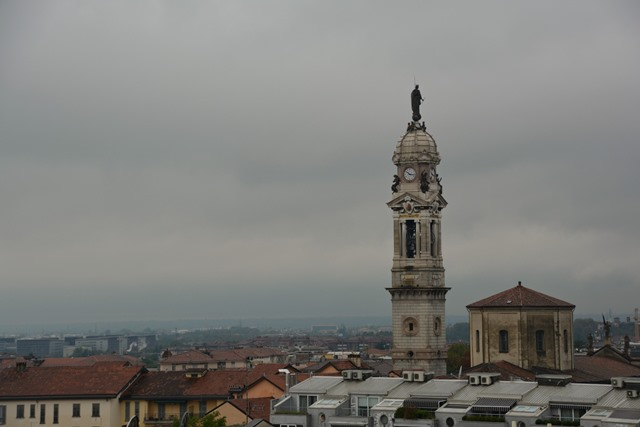 Views of lower town Bergamo.