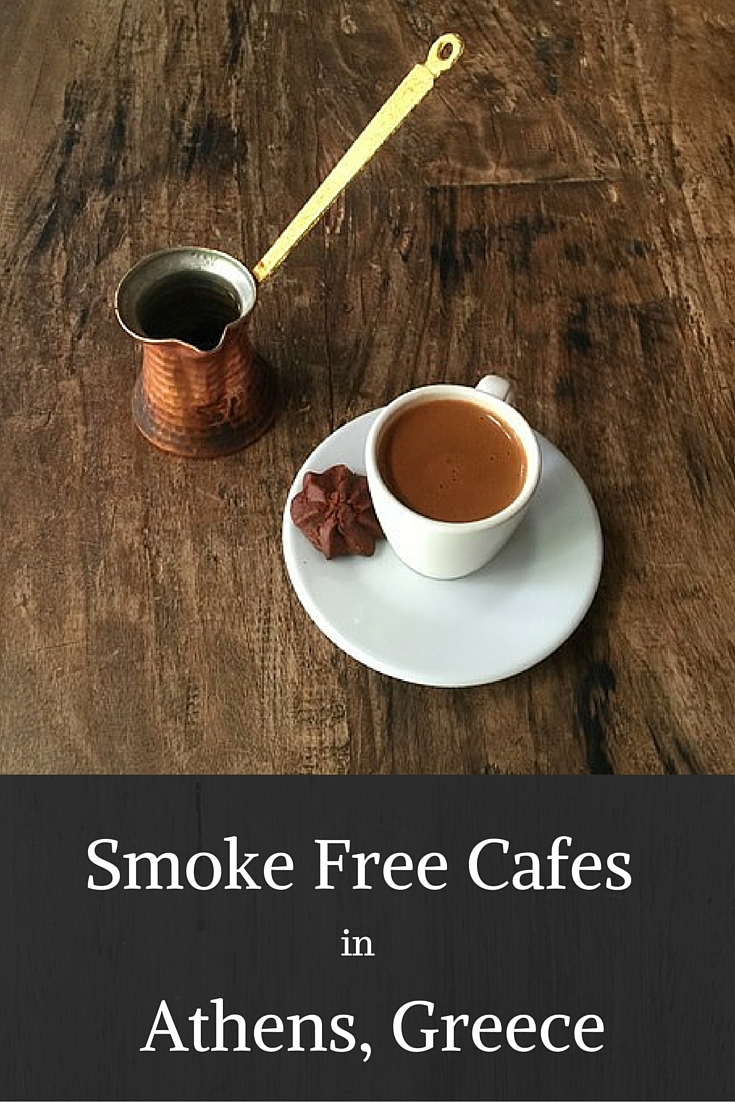 Smoke Free Cafes in Athens, Greece