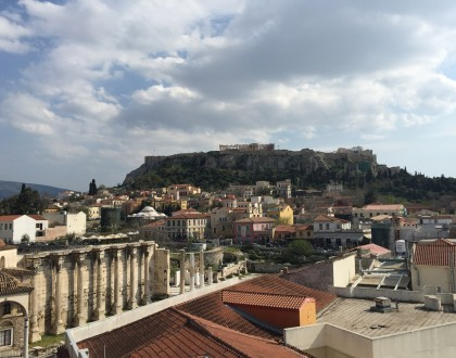 Athens Cafes with a View