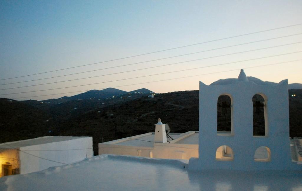 Castro of Sifnos island, Greece.