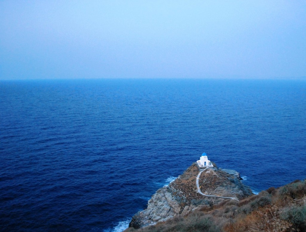 Church of Seven Martyrs in Sifnos.