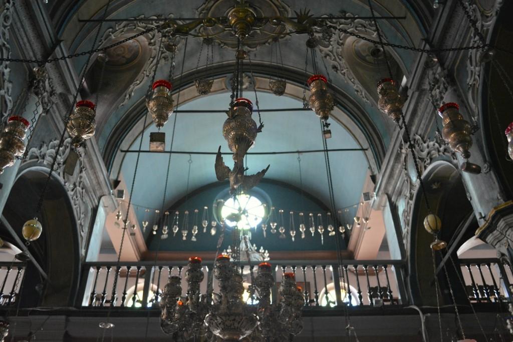 Inside Panagias Evangelistrias.