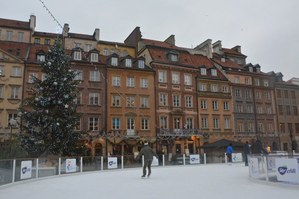 Old Town Square in Warsaw.