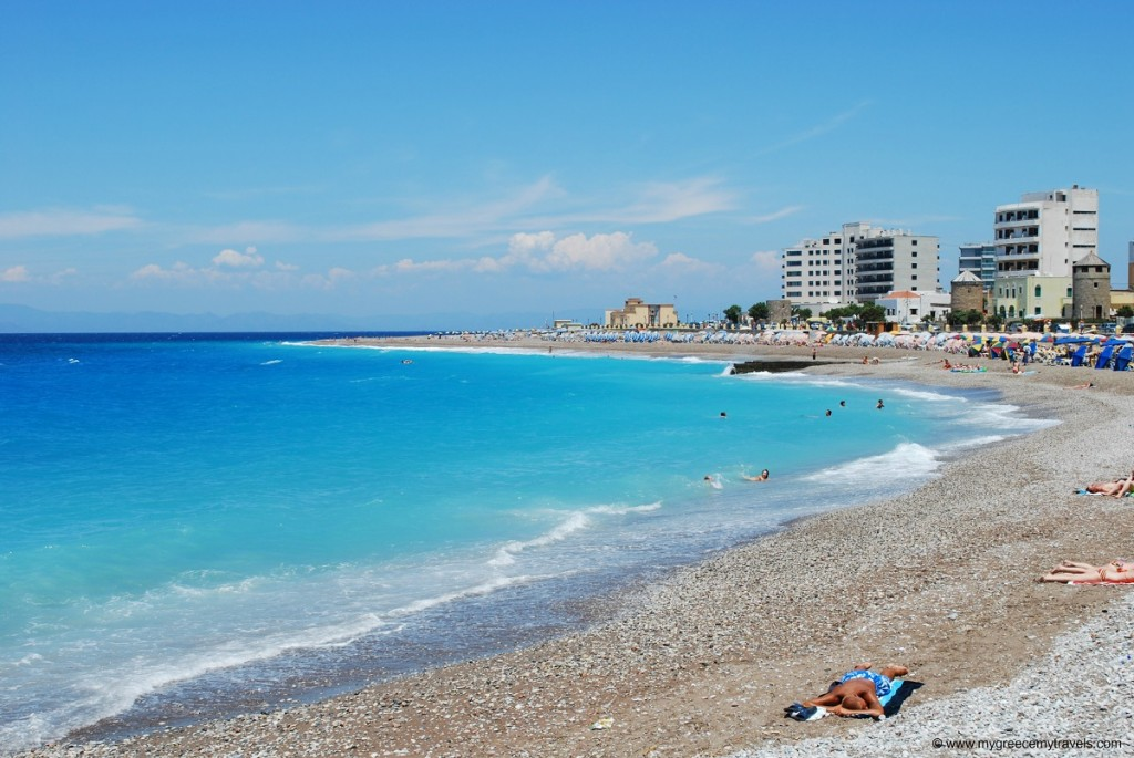Rhodes has amazing beaches, a definite reason it is one of the top Greek island holidays this year.