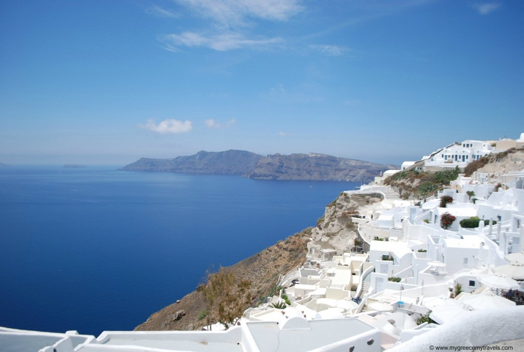 Santorini is one of the most unique island settings in the world.