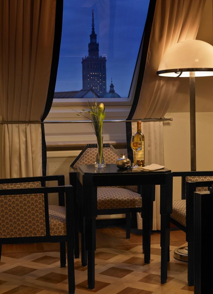 belgian living room view