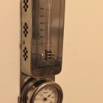 Nickel thermostat. So retro at the Rialto.